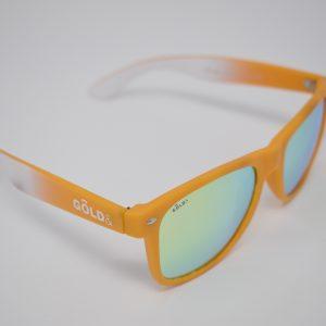 Gafas de sol amarillas y blancas unisex polarizadas