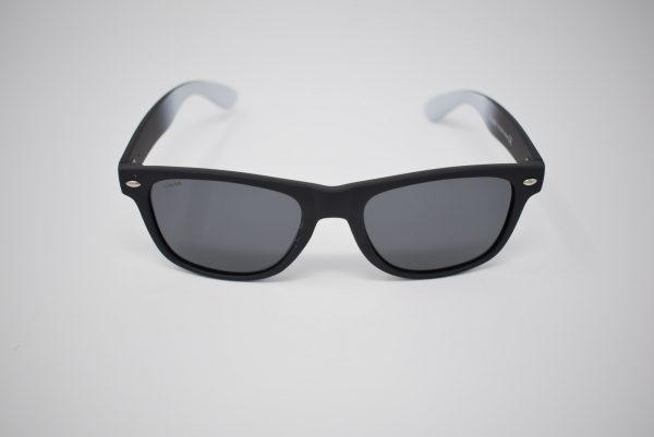 Gafas de sol negras y blancas unisex polarizadas