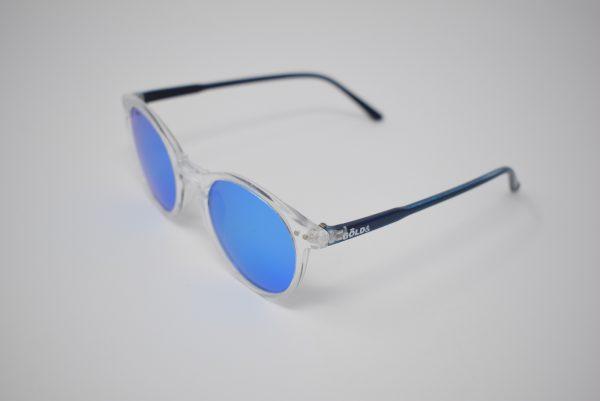 Gafas de sol azules y transparentes unisex polarizadas
