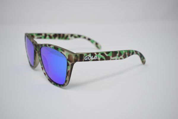 Gafas de verde camuflaje unisex polarizadas