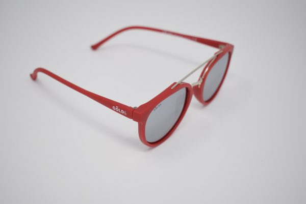 Gafas de rojas unisex polarizadas